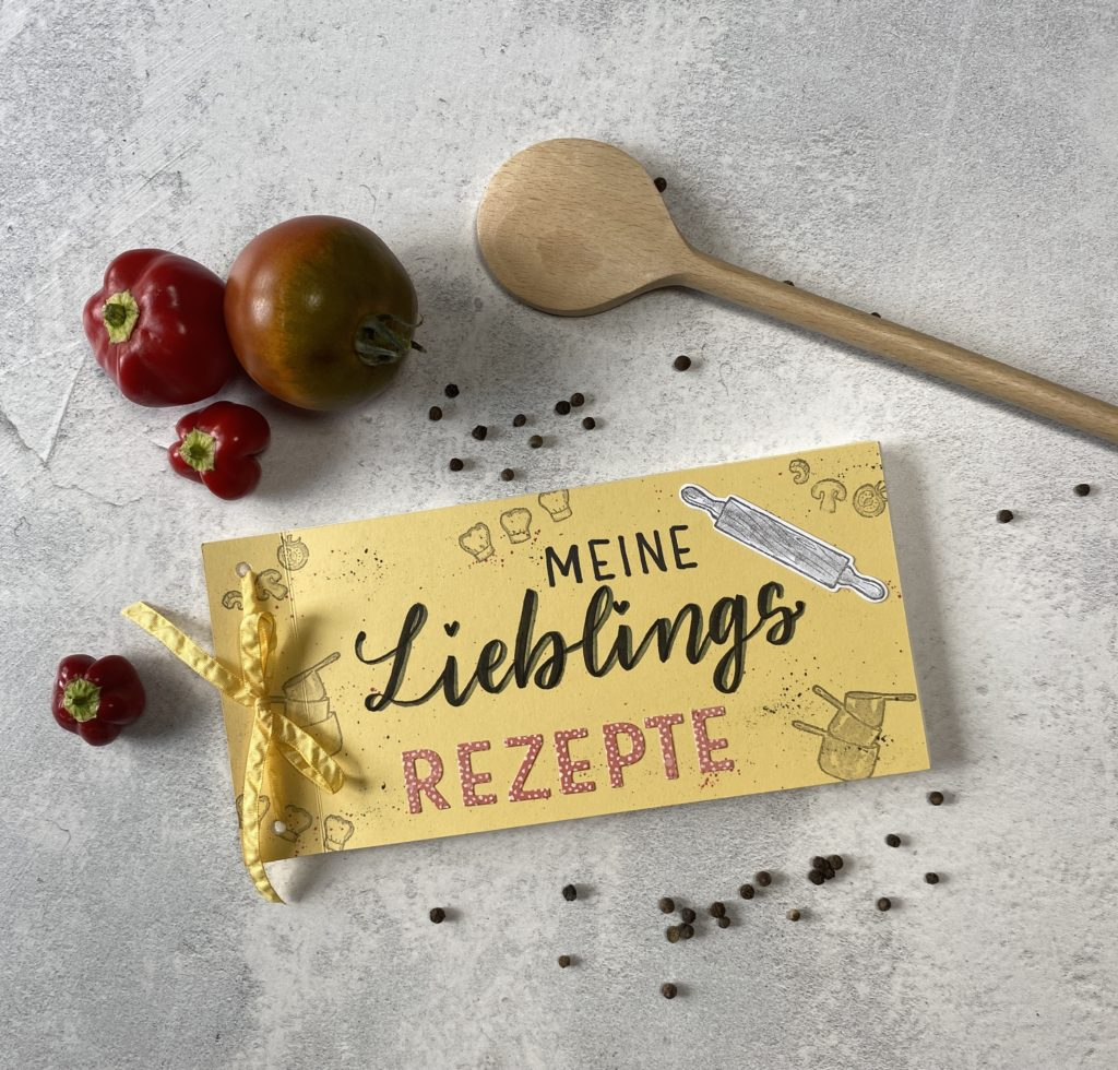 Bloghop Tintenträume Rezeptbuch