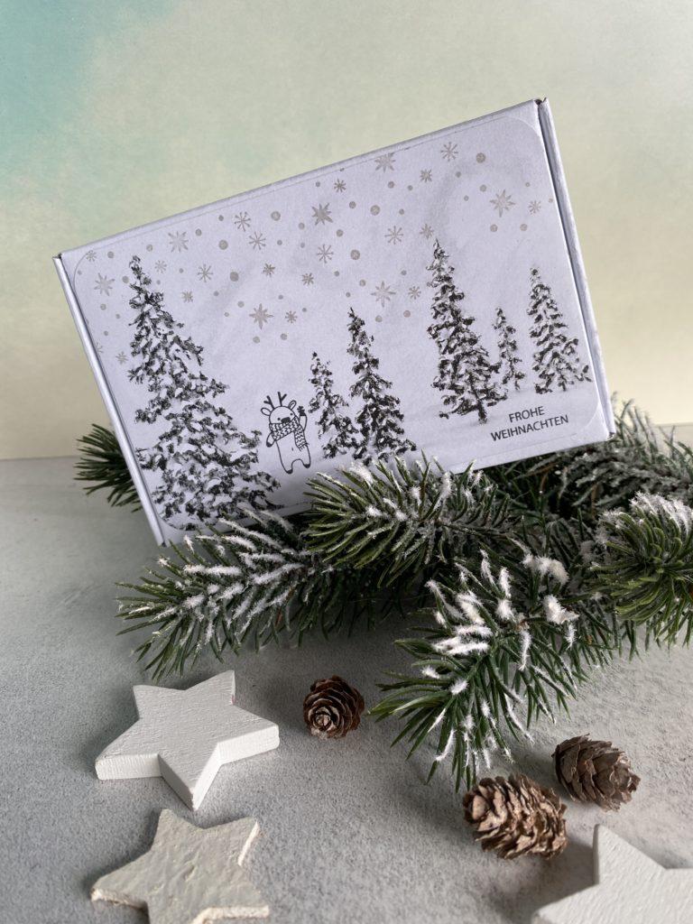 Weihnachtsbasteln mit Rentieren von Kreativzeitlos